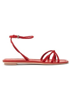 Prada Knot-front suede sandals