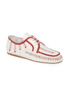 Prada Lace-Up Loafer (Women)