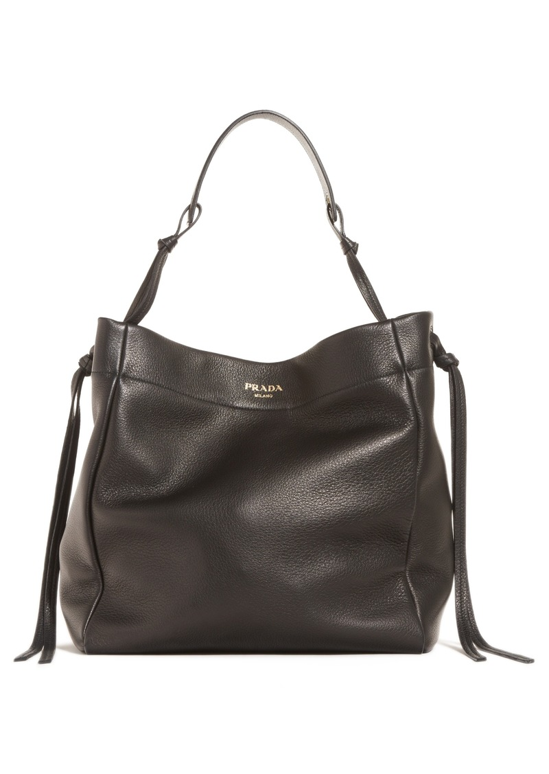 42ef5fabdd2b Prada Prada Large Deerskin Leather Hobo | Handbags