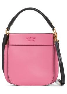 Prada City Calfskin Leather Hobo Bag
