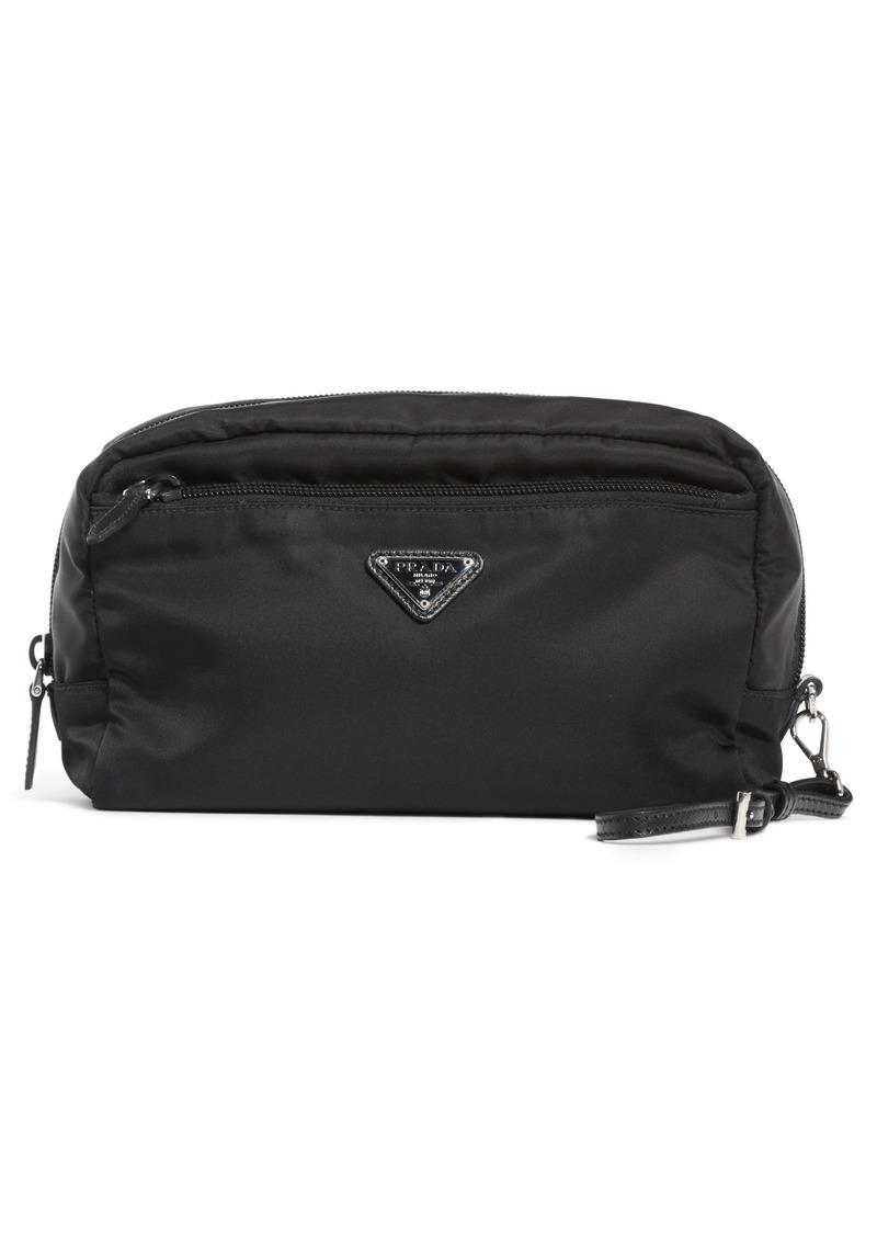 97af3f5a4f05f2 Prada Prada Nylon Cosmetics Pouch | Handbags