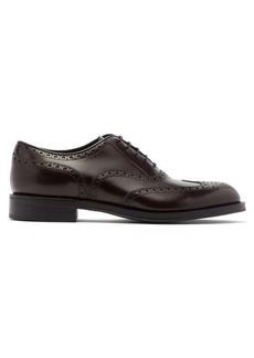 Prada Leather oxford brogues