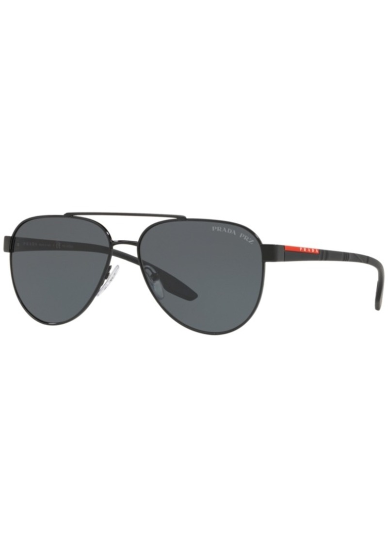 107c73860fa0 Prada Prada Linea Rossa Polarized Sunglasses