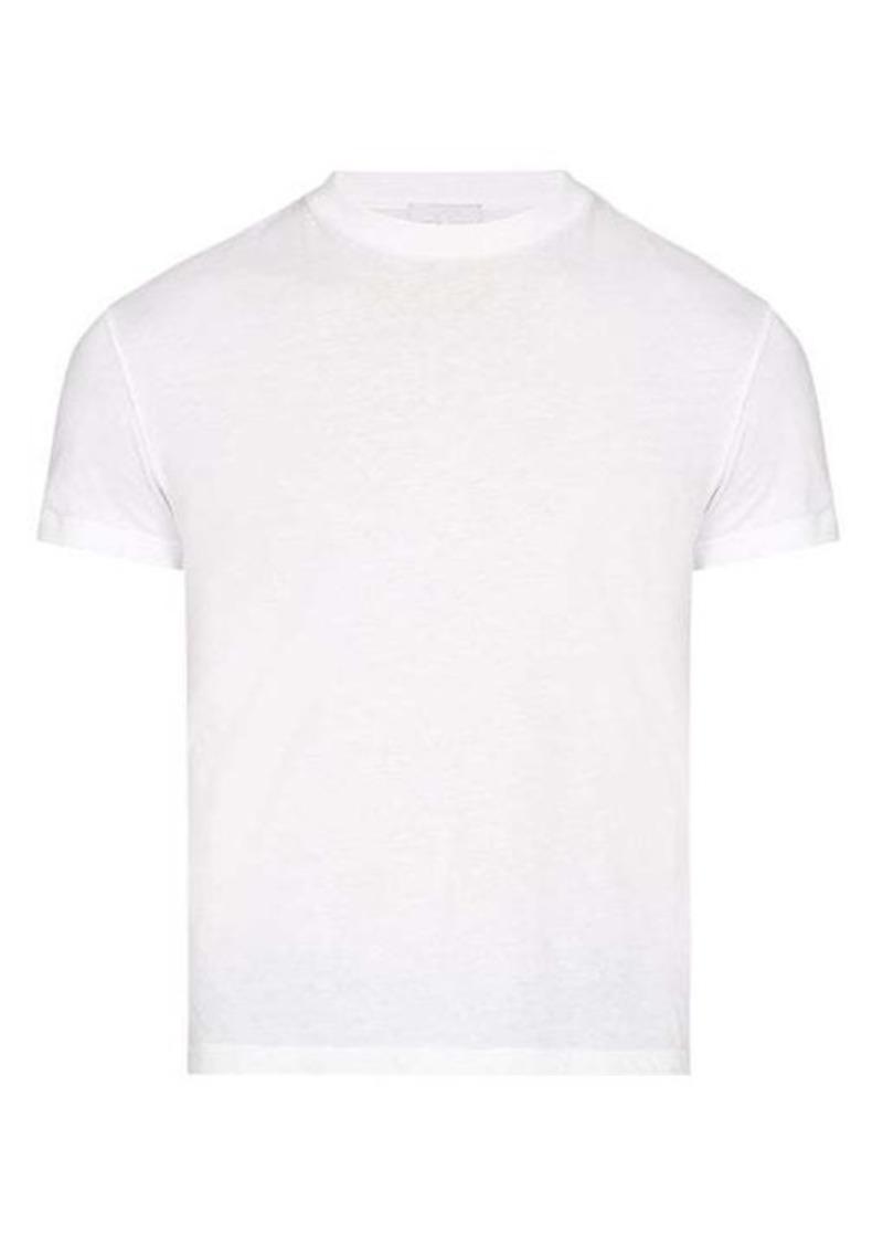 Prada Logo-appliqué cotton T-shirt