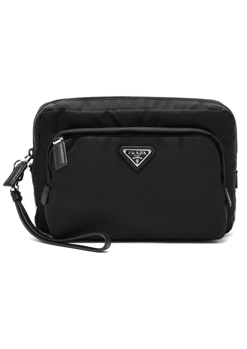e7a1417f697c8e Prada Prada Logo-embellished nylon camera pouch | Bags