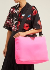 37ef51479984 Prada Prada Logo-embellished padded-nylon tote bag | Handbags