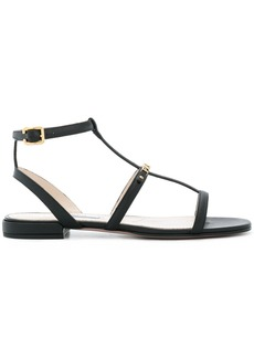 Prada logo gladiator sandals - Blue