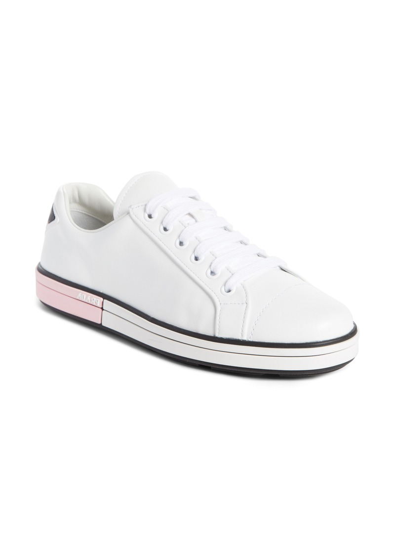 Prada Prada Logo Low Top Sneaker (Women)  5a80f8b585