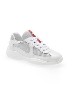Prada Logo Low Top Sneaker (Women)