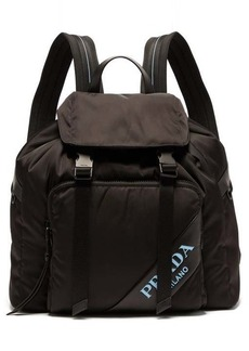Prada Logo nylon backpack