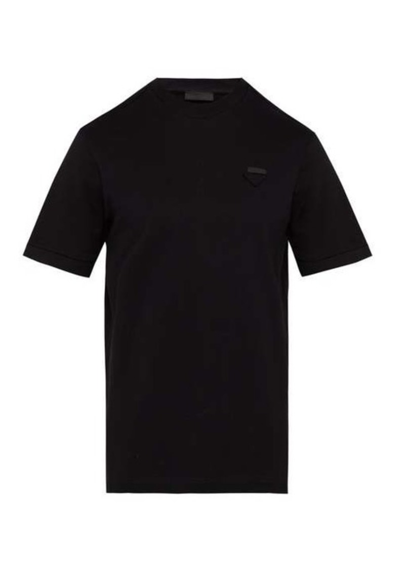 Prada Logo piqué T-shirt