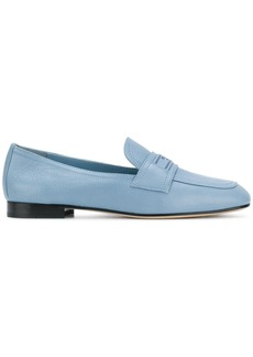 Prada logo plaque loafers - Blue