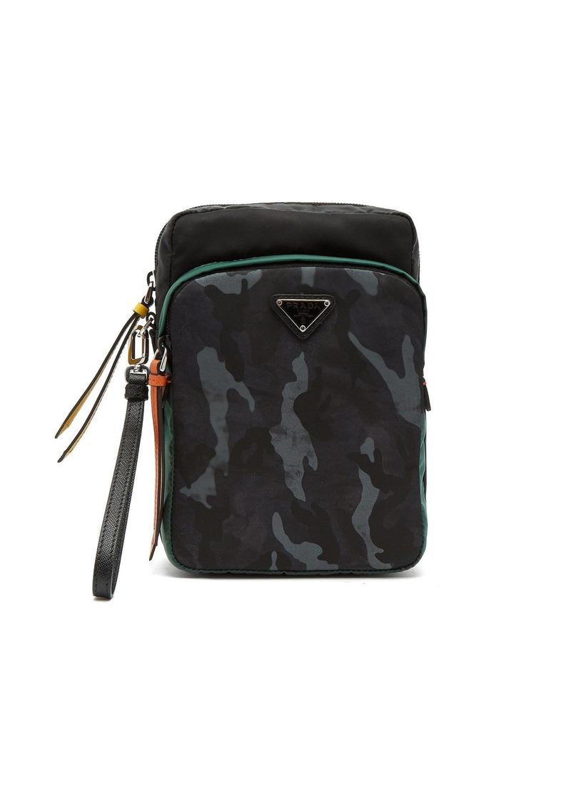 ed2985428582 Prada Prada Logo-plaque nylon camera bag | Bags
