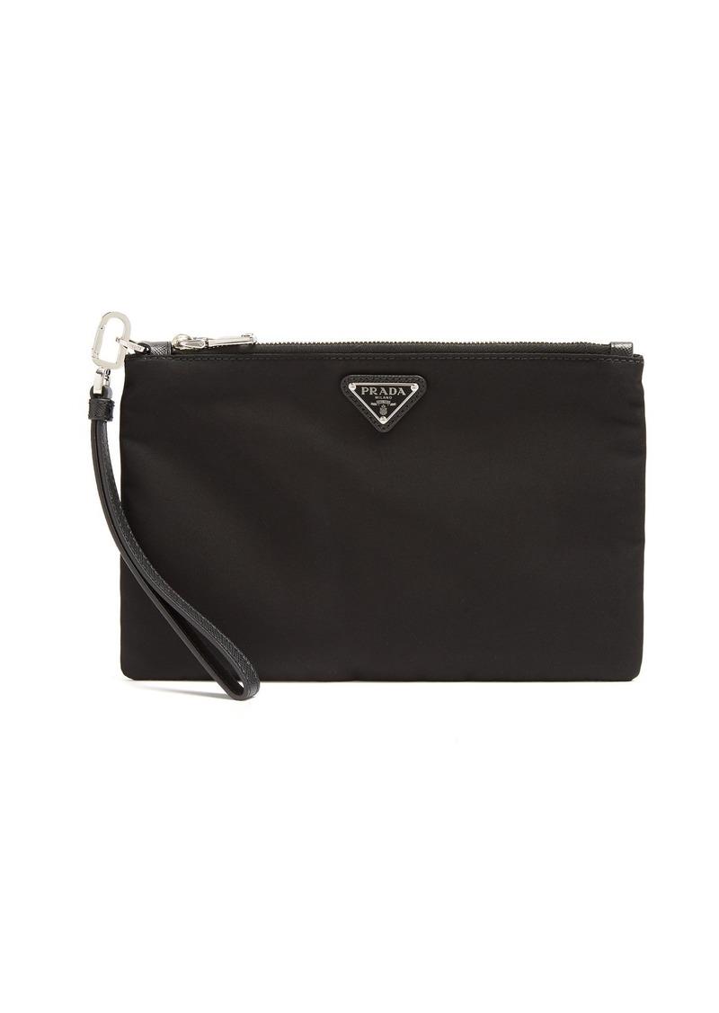 470a52150e19 Prada Prada Logo-plaque nylon pouch | Bags
