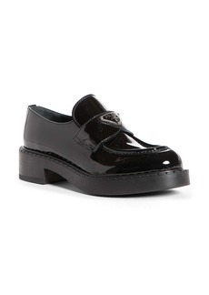 Prada Logo Platform Loafer (Women)