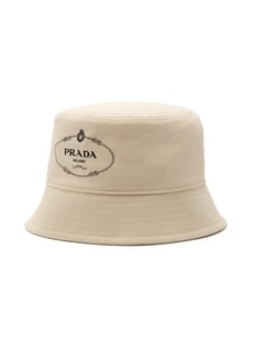 Prada Logo-print canvas bucket hat