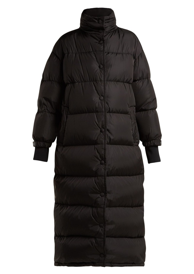 bd1fc3fddc Long quilted down coat
