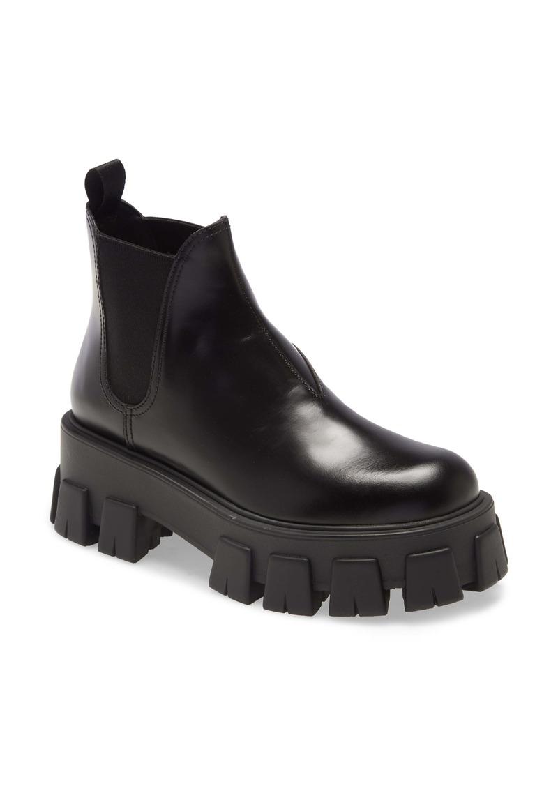 Prada Lug Chelsea Boot (Women)