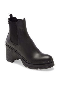 Prada Lug Sole Chelsea Boot (Women)