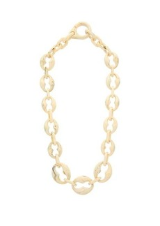 Prada Marbled-resin chain necklace