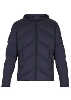 Prada Hooded matte down-quilted jacket