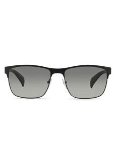 Prada Men's McNamara Rectangle Sunglasses, 58mm
