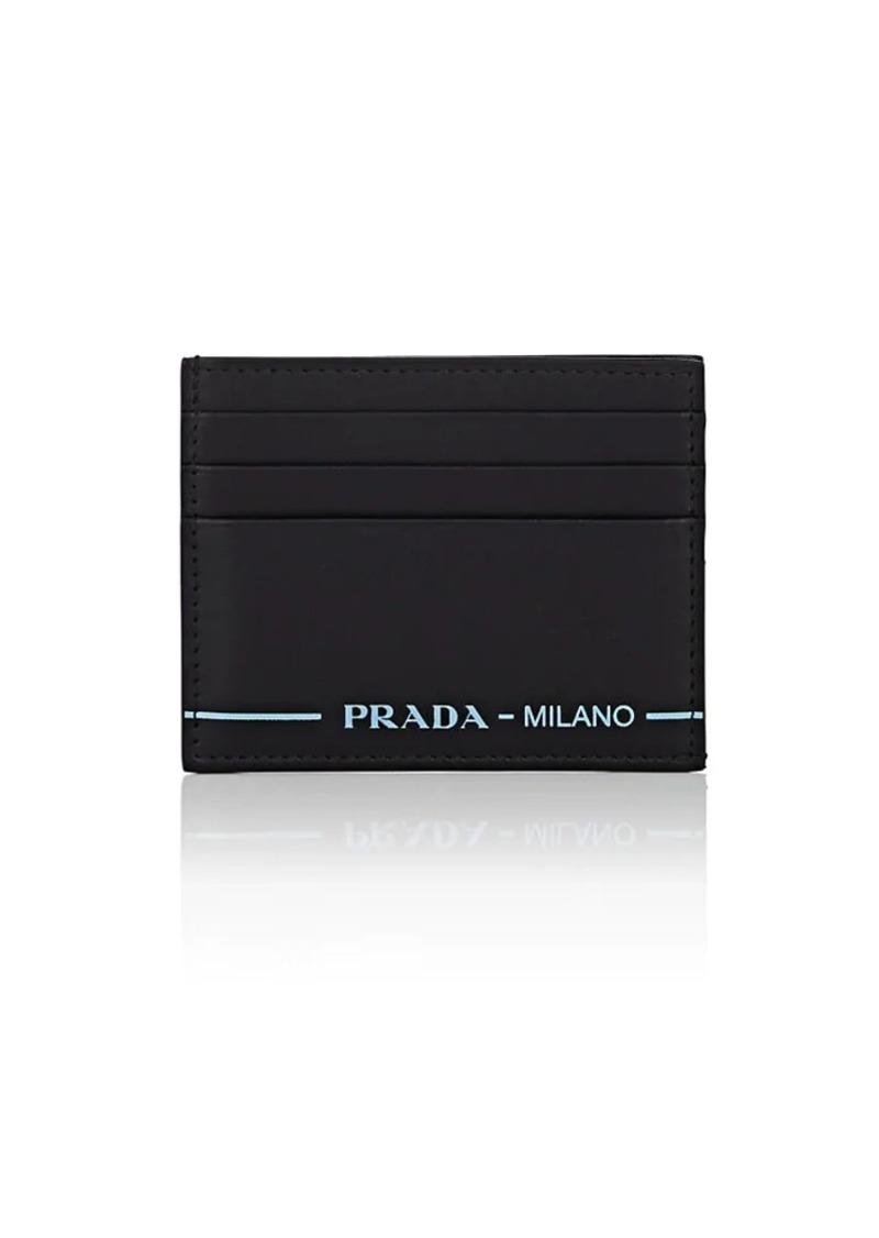 41f490244754 Prada Prada Men's City Sport Leather Card Case - Nero | Misc Accessories
