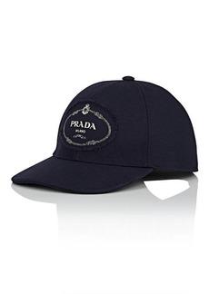 Prada Men's Cotton Canvas Baseball Cap