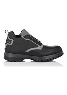 Prada Men's Leather & Nylon Boots