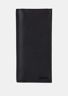 Prada Men's Leather Long Wallet