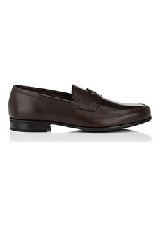 Prada Men's Leather Penny Loafers