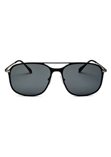 Prada Men's Linea Rossa Evolution Brow Bar Square Sunglasses, 59mm
