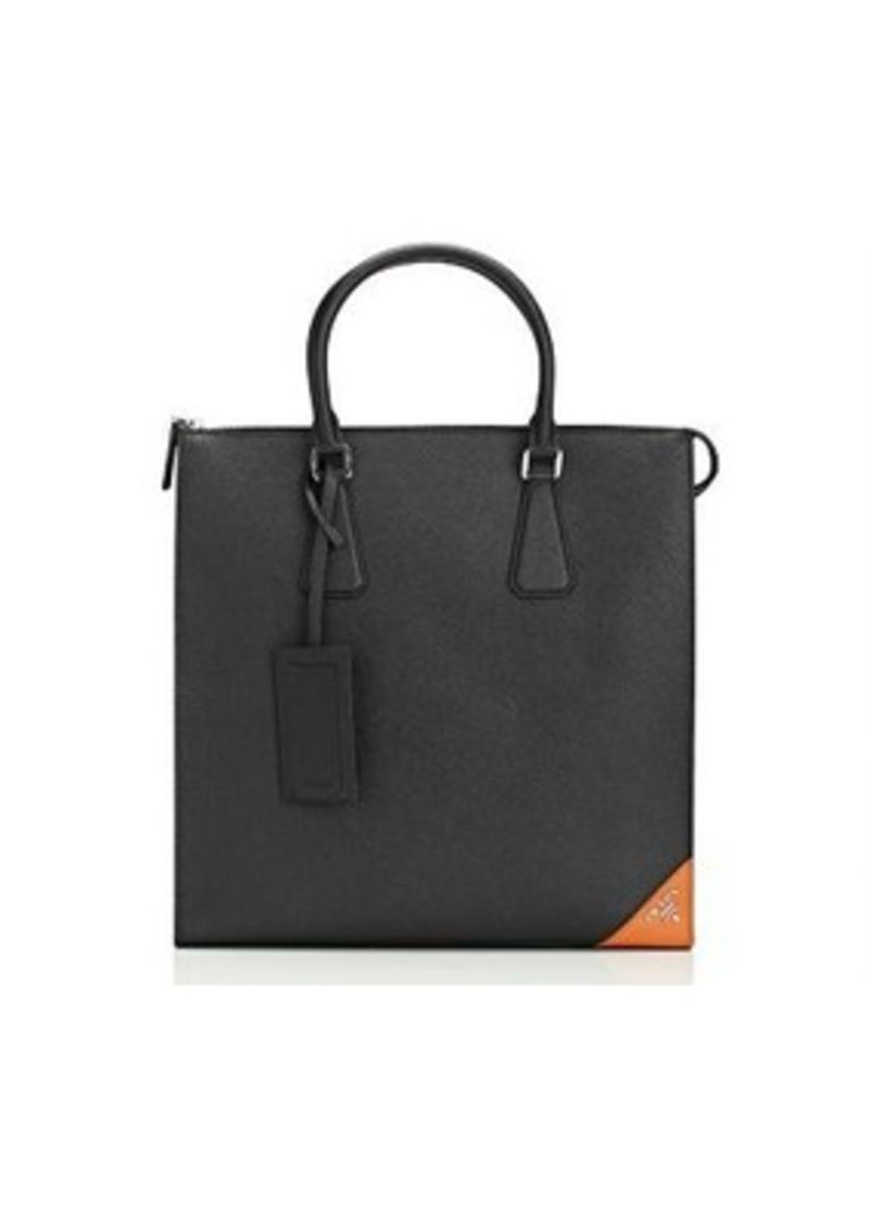 Men S Logo Corner Tote Bag