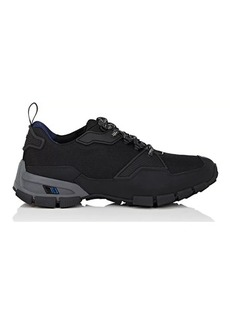 Prada Men's Mesh & Rubberized Leather Sneakers