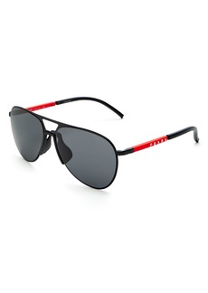 Prada Men's Pilot Sunglasses, 59mm