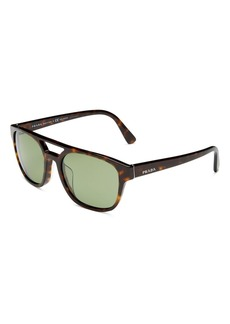 Prada Men?s Polarized Square Sunglasses, 56mm
