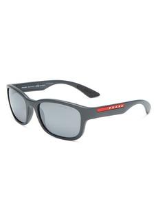 Prada Men's Polarized Square Sunglasses, 57mm