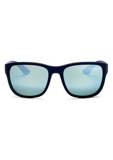 Prada Men's Polarized Square Sunglasses, 59mm