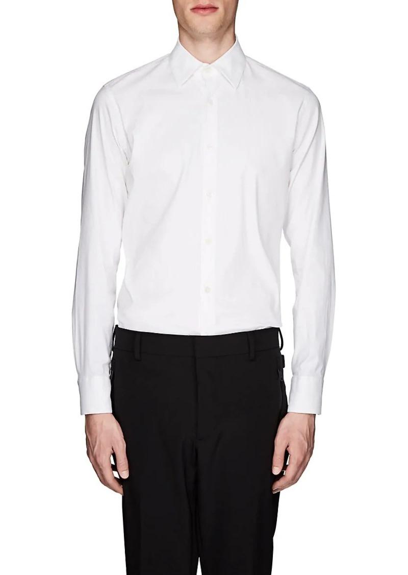 6bdc23cf Men's Stretch Cotton-Blend Poplin Shirt