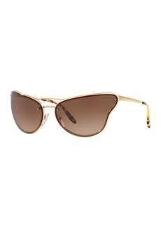 Prada Metal Butterfly Sunglasses
