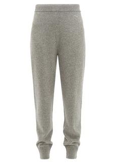 Prada Mid-rise cashmere track pants