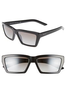 69a2187a744a Prada Prada PR 03VS Millennial Geometric Sunglasses | Sunglasses