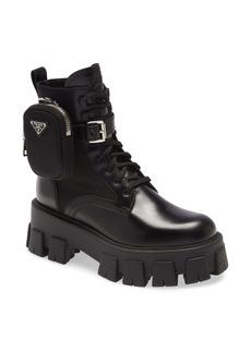 Prada Mini Bag Combat Boot (Women)