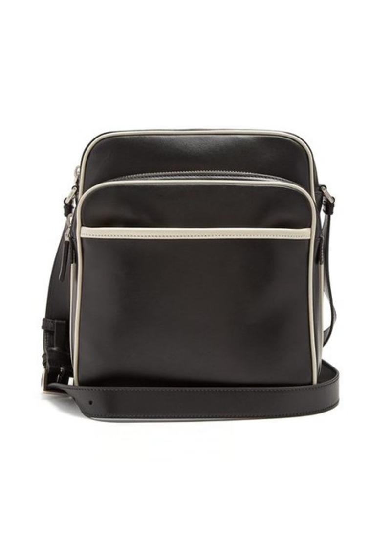 2b82e3e89010 Prada Prada Mini messenger bag with contrast piping