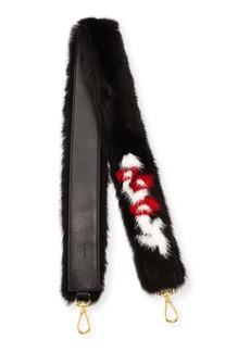 Prada Mink Fur Shoulder Strap for Handbag