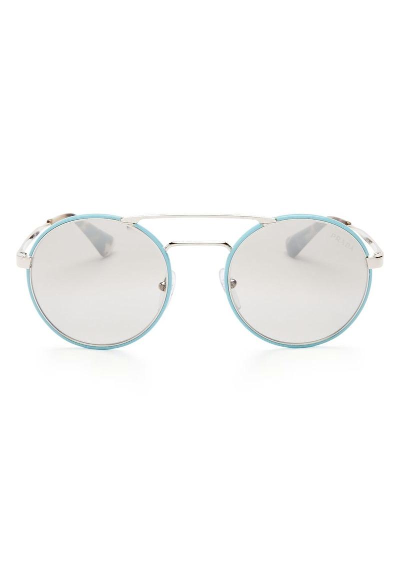 14b29bd92a SALE! Prada Prada Mirrored Round Sunglasses
