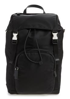 Prada Montagna Black Nylon Backpack