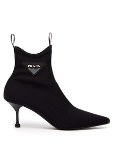 Prada Neoprene ankle boots