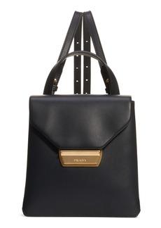 Prada New Calfskin Leather Envelope Backpack