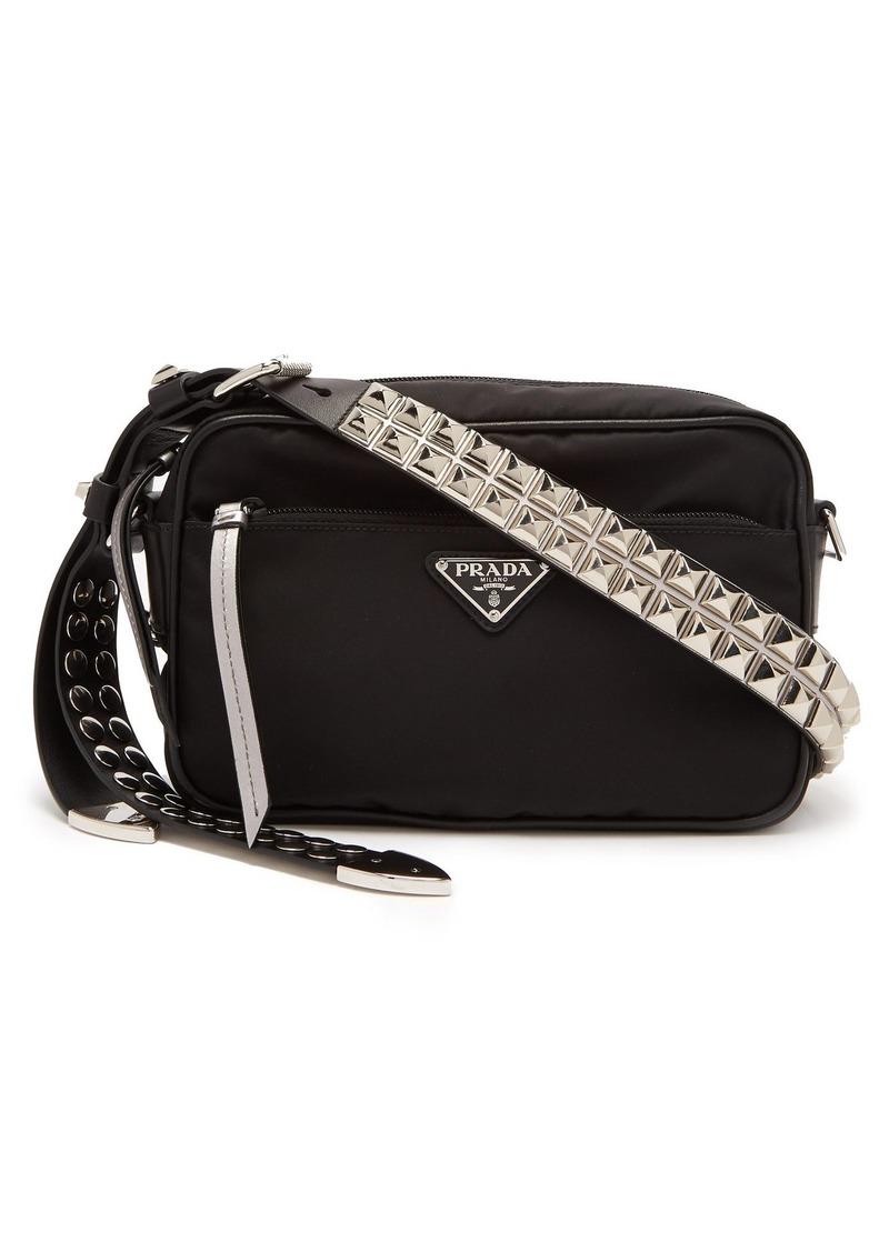 4e2b0d31f5625e Prada Prada New Vela nylon cross-body bag   Handbags